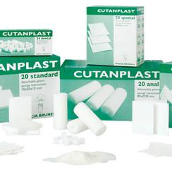 Cutanplast gelatinespons resorbeerbaar haemostatisch