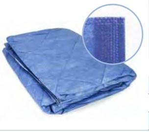 30x patientdekens disposable blauw 700gr 110x190cm