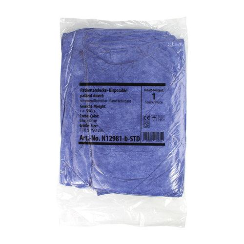 Rembrandt 30x patientdekens disposable blauw 700gr 110x190cm