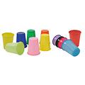 100 drinkbekers 180cc kleuren recyclebaar