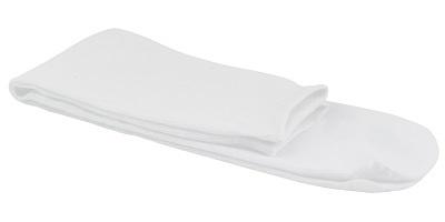 100x sokken universeel wit katoen disposable