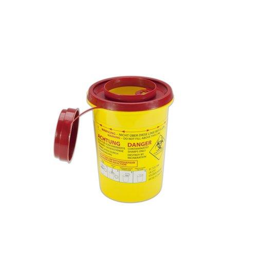 MedicaMarkt Naaldencontainer 0,7 liter UN 3291 per 1 stuk
