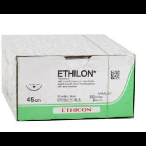 Ethicon 669H Ethilon ZWART MONOFIL 3-0 met FS1 naald met hechtdraad  0,75mtr  36st/pak