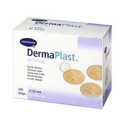 Dermaplast  Sensitive injectiepleisters rond 22mm spots