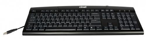 Clinell Easyclean wasbaar True Type Toetsenbord