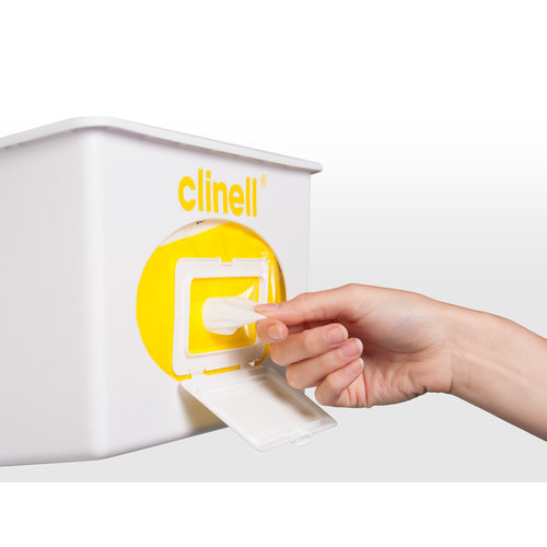 Clinell Dispenser voor CW215 wit