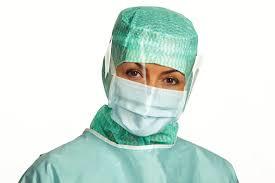 50x 4232 Type2R extra protectie masker spatbestendig scherm