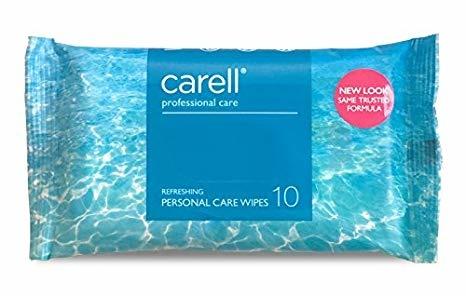 Carell Reinigingsdoekjes p.pakje a 10st CRW10