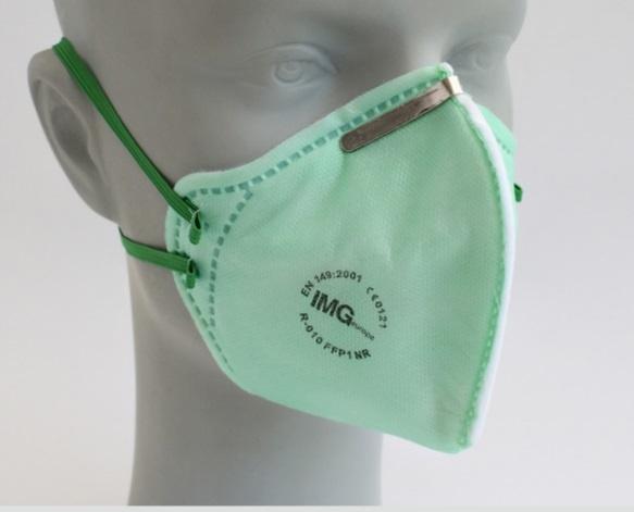 25x FFP1 premium mondmasker zonder ventiel