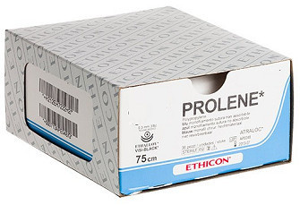 PROLENE BLAUW MONOFIL 7-0 EH7222H