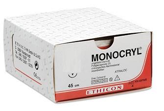 MONOCRYL ONGEKL MONOFIL 5-0 MPY495H