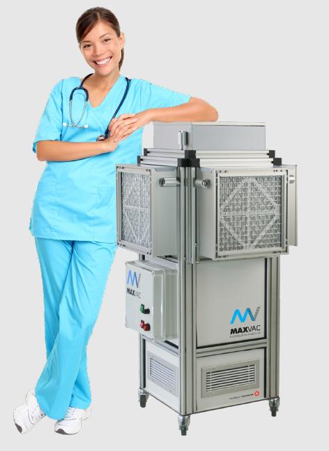 multi luchtfilter met UV-C sterilisator virusdodend
