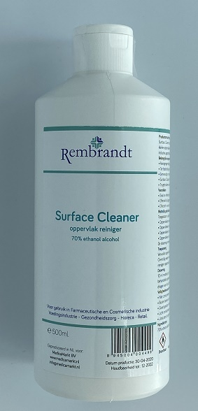Rembrandt 9x 500ml 70% ethanol alcohol oppervlak reiniger
