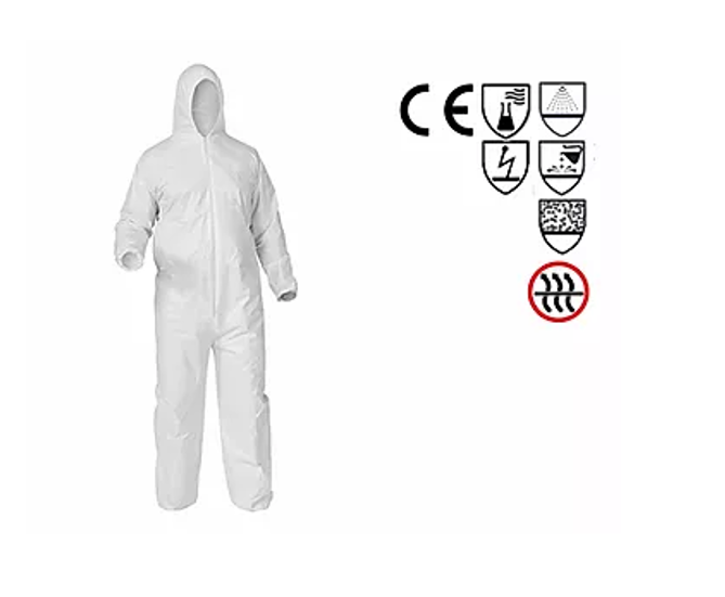 25x Coverall Type 4 - 5 - 6  cleanroom Texonn R