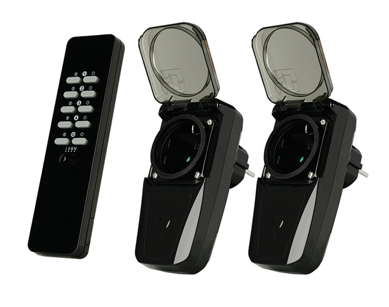 Trust Smart Solutions - Draadloze schakelaarset voor buiten AGD2-3500R