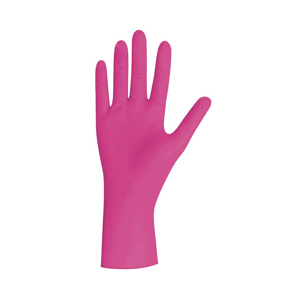 Unigloves 10x100 nitril  MAGENTA wegwerphandschoenen