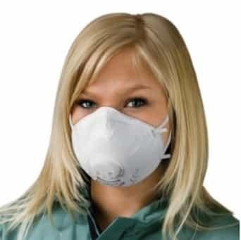 10x ademhalingsmaskers Ventiel FFP2 NR D