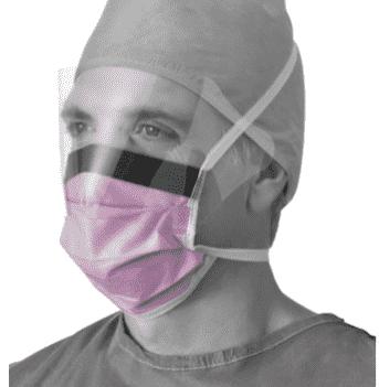 100x NON27410 vloeistofbestendig masker vizier