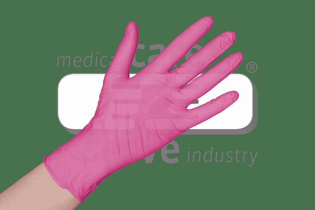 200 nitril roze handschoenen ECO