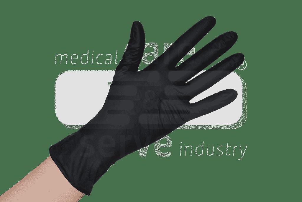 200 nitril zwarte handschoenen ECO