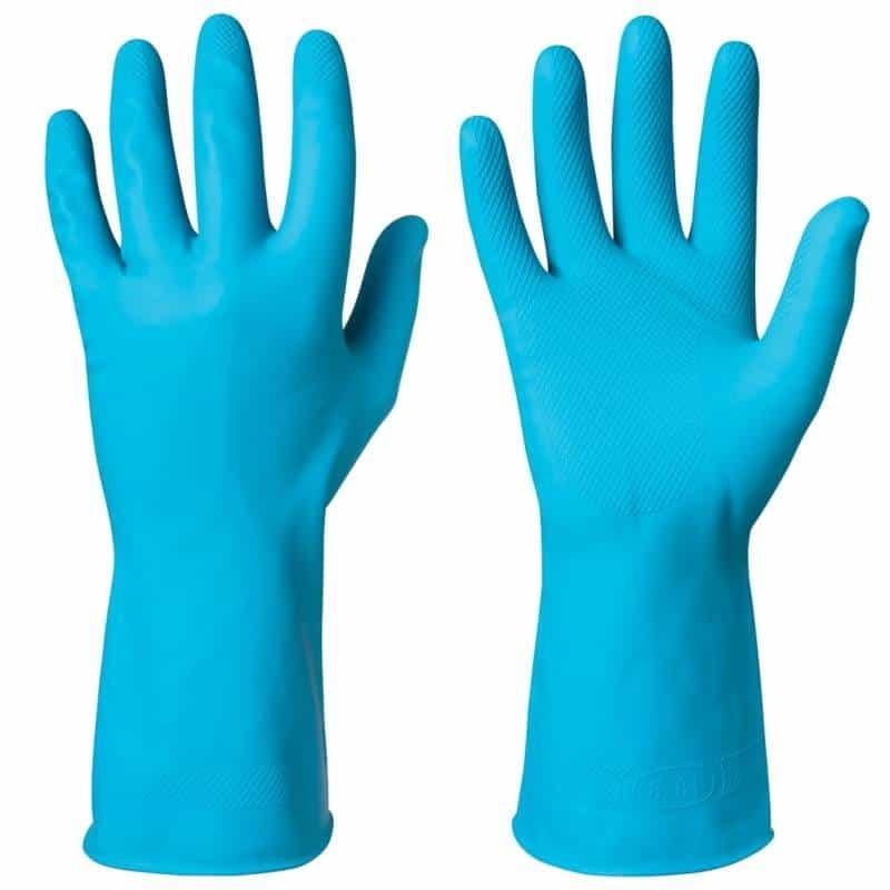 Latex handschoenen waterdicht met grip FOOD per paar