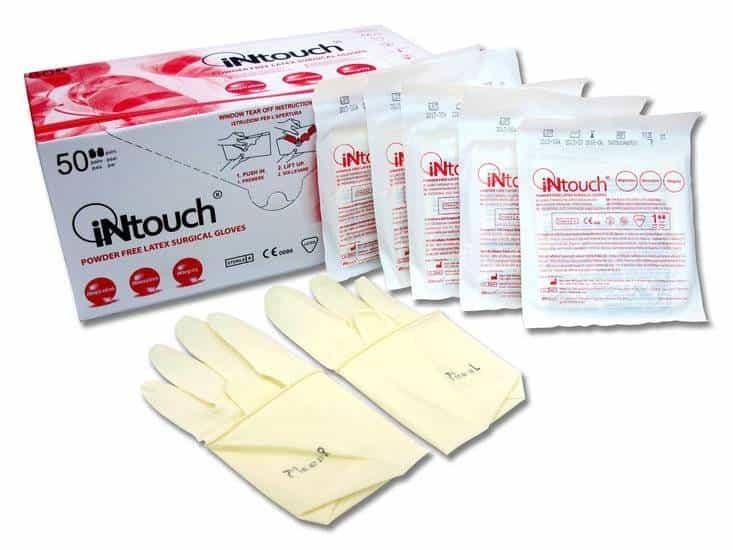 Steriele handschoenen EXPIRED poedervrij - polymer coated - 50 paar