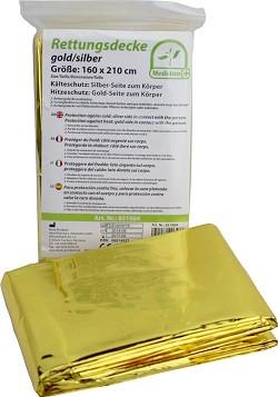 Medi-Inn 10 reddingsdekens EHBO Goud Zilver