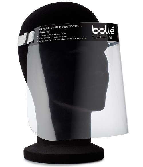 Bollé Face Shield Premium volgelaatscherm per stuk