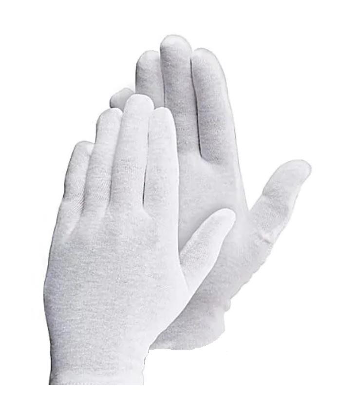 Zilverhandschoenen antibacterieel per paar