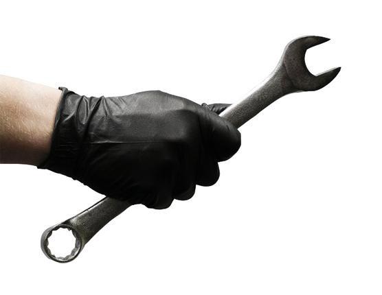 100 nitril  zwarte handschoenen  Safetouch Advanced