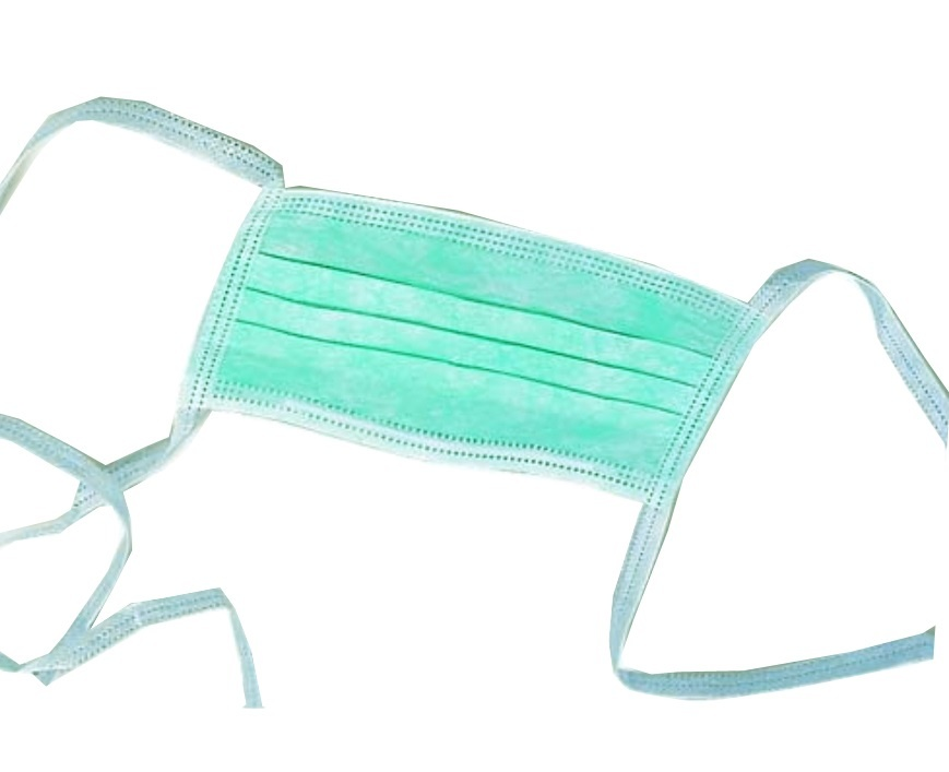 1000x Type2R Tie-On  chirurgische mondmaskers knooplinten