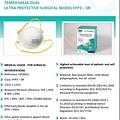 Temra FFP3  IIR medisch chirurgisch Dual Mondmasker EN14683