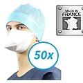 Kolmi FFP2  medische maskers chirurgisch