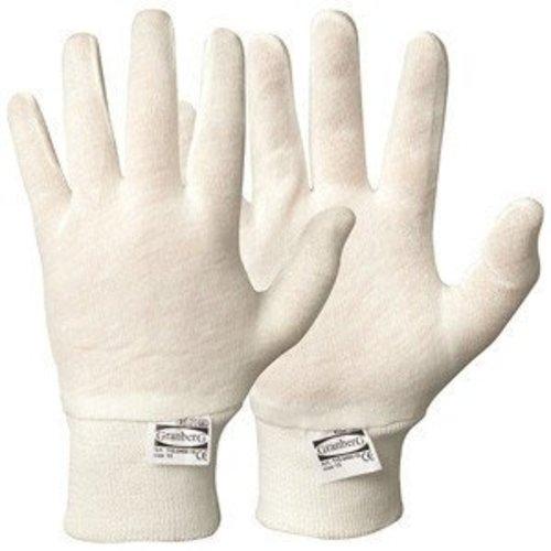 Granberg Katoen WITTE handschoenen - per 1 paar