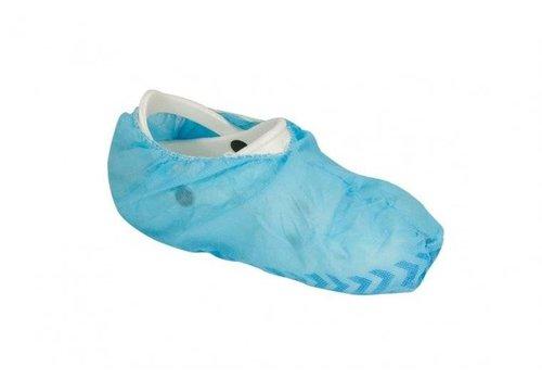 Schoenovertrek met antislip zool blauw - 100 stuks