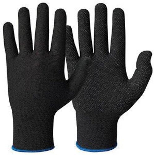 Granberg Katoenen handschoen ZWART micro-dots