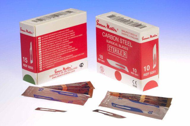 Scalpel mesjes 15 steriel