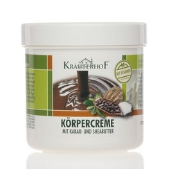Bodycreme Cacao en Sheabutter 250 ml