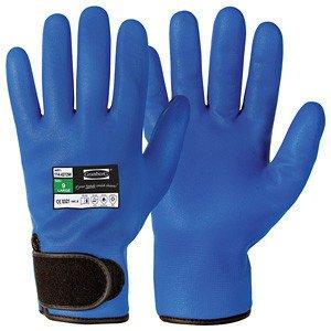 1 paar nitril warme waterdichte handschoenen