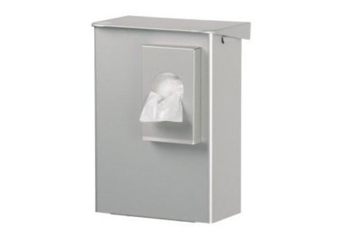Damestoilet hygienebak met zakjeshouder 6 liter