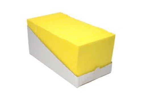 Sopdoeken GEEL 140 gr/m2 - 65 per dispenserdoos