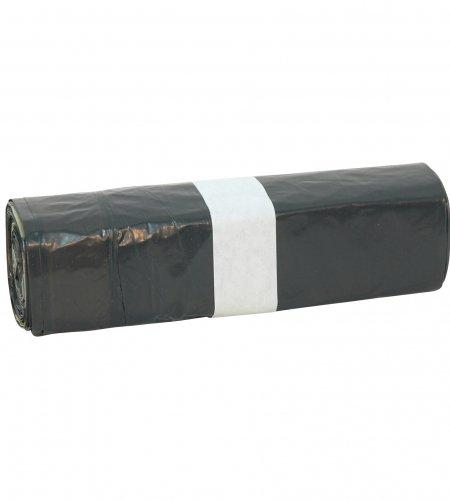 20 afvalzakken 6 liter met trekband LDPE op rol
