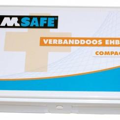 EHBO verbanddoos compact voor particulier en onderweg