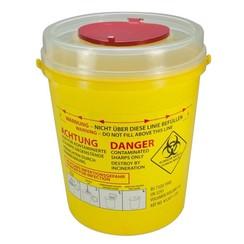 Naaldencontainer 8 liter UN 3291 per 1 stuk