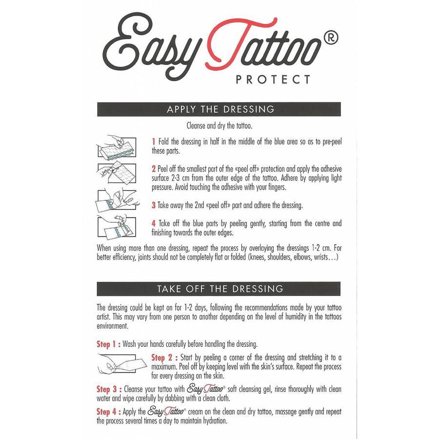 Tattoo pleisters per 10 sachets - Protect en Hypoallergeen