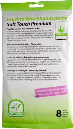 Medi-Inn Vochtige Aloe Vera washandjes (8)