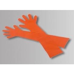 50x veterinaire PE handschoenen 90cm