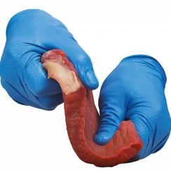 50x Grippaz 246 BL blauw nitril extra dik