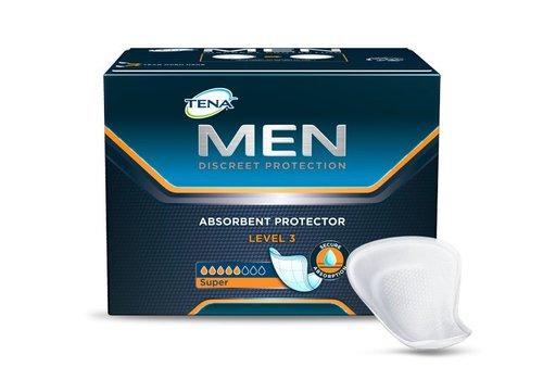 6x 16x Tena Level 3 for men incontinentie inleggers mannen