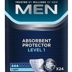 6x 24 Tena for Men Level 1 incontinentie inleggers voor mannen